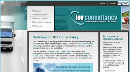 For Operator licences try the JEY Consultancy Website